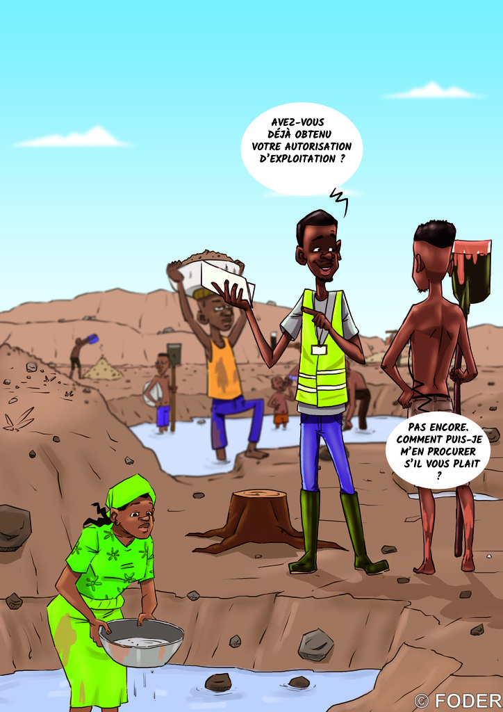 artisant minier et expert
